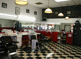 Barber shop on 1446 Capital Circle Northwest in Tallahassee, FL