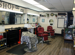 Barber shop on 1911 North Monroe Street in Tallahassee, FL