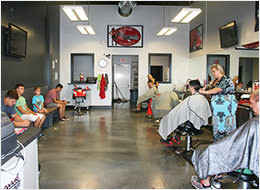 Barber shop on 75 Eglin Parkway in Ft. Walton, FL