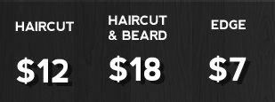 Our haircut prices