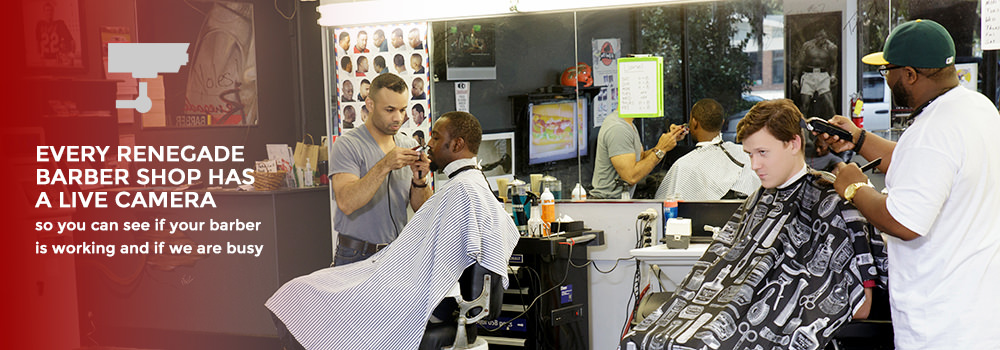 Barber Quincy : Barber Shop in Tallahassee - Renegade Barber Shop